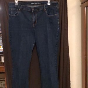 Old Navy jeans boot cut size 18 regular